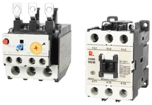 ck3交流接触器,cjr3热继电器